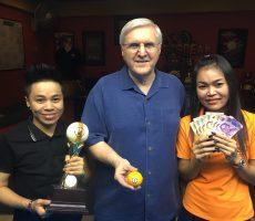 Thurs 26-07 : Zoli Wins