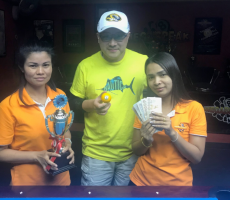 Tues 26-02 : Mike Wins