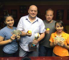 Scotch Doubles : Miikka + Tor Win