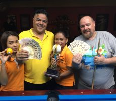 Scotch Doubles : Abdulla + Jarmo Win