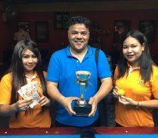 Mega 8 Ball : Abdulla Wins
