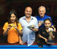 Scotch Doubles : Tommy+Joe Win