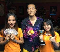 Mega 8 Ball : Qing Wins
