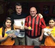 Xmas Scotch Doubles : Peter+Tor Win